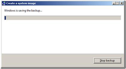 กระบวนการ backup ใน windows 7