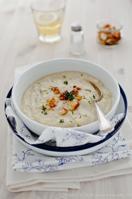 Creamy Cauliflower Soup (0094) by Meeta K. Wolff