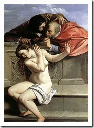 Susana acediada pelos juizes de juda