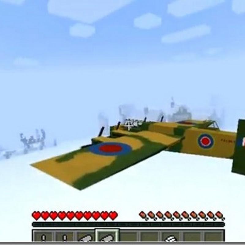 Minecraft 1.4.6 - Flan's Mod: Aerei, veicoli, armi, multiplayer, TDM, Conquest