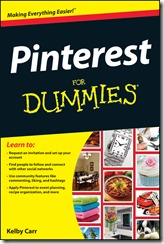 Pinterest for Dummies by Kelby Carr Cover