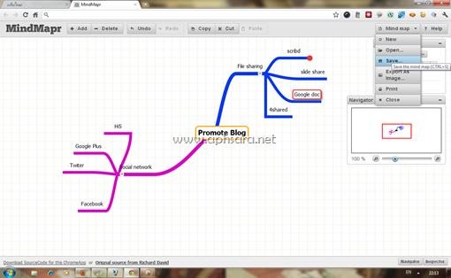 MindMap กับ Google chrome
