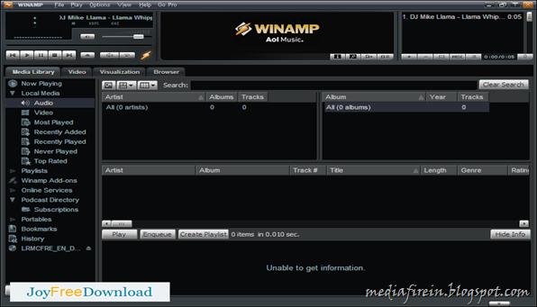 Winamp (2013) 2