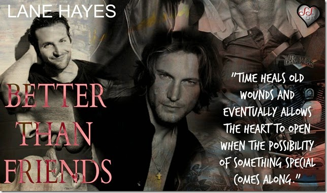 Better Than Friends by Lane Hayes