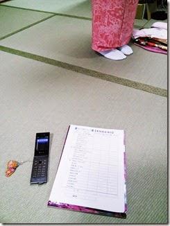 『きものを着てみよう!』コースの認定テスト (1)
