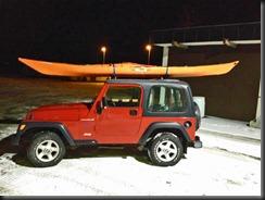 Jeep-kajakk