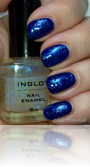 Barry M Indigo   Inglot 204