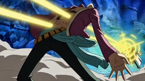 Marco é atingido por Kizaru