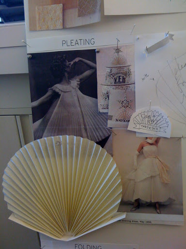 Here is a snapshot of our inspiration board.