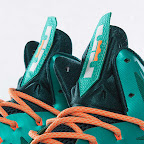nike lebron 10 gr miami dolphins 3 07 Gallery: Nike LeBron X Miami Setting or Dolphins if you Like