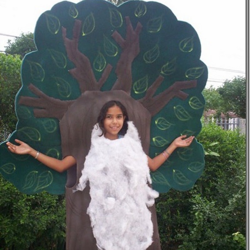 foto de Disfraz de árbol foami
