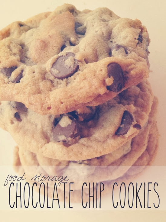 Food Storage Chocolate Chip Cookies