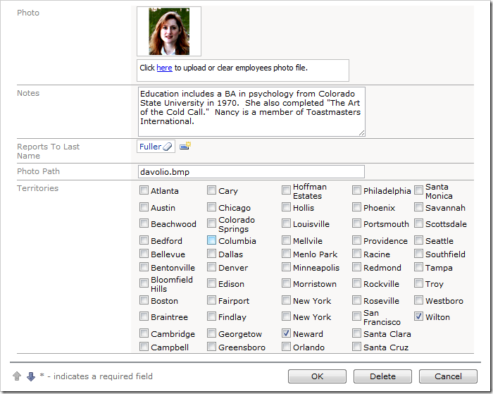 Data Lookups can be configured as a Check Box List so that the user can select multiple values.
