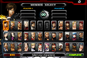 Screenshot of THE KING OF FIGHTERS-A 2012