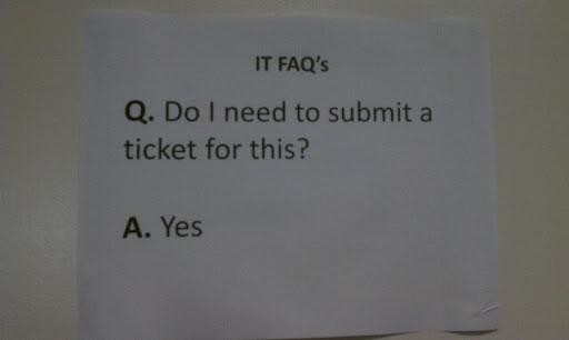 IT FAQ