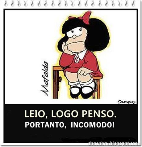 Mafalda pensando