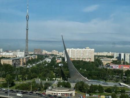 Panorama de zi - Hotel Kosmos Moscova