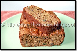 Date and Walnut Cake  - IMG_2649