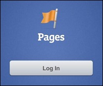 Facebook Pages Manager para iPhone