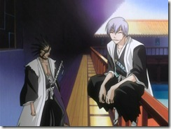 Bleach 20 Zaraki and Gin