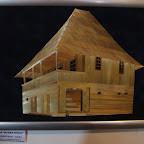 Casa de cultura Busteni - Miniaturi de arhitectura traditionala