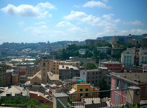 مدينة جنوة ايطاليا