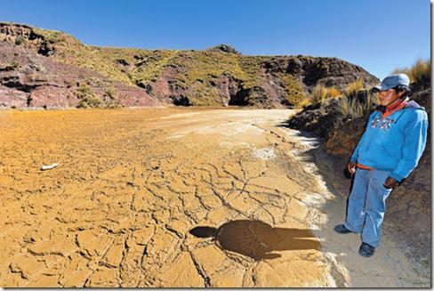 Contaminación minera en Bolivia