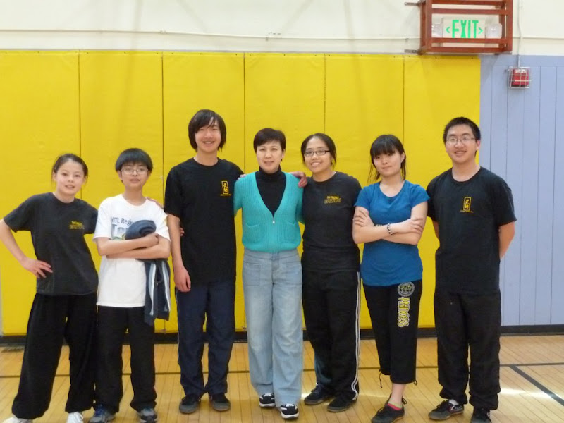 SF Wushu students with Zhu lao shi (2012)