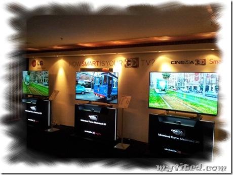 LG Cinema 3D SMART TV 3D