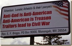 Anti-Atheist-ChristianSign