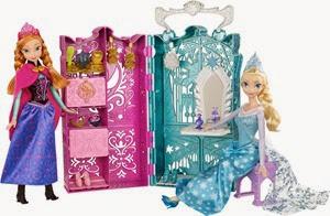 anna and elsa closet