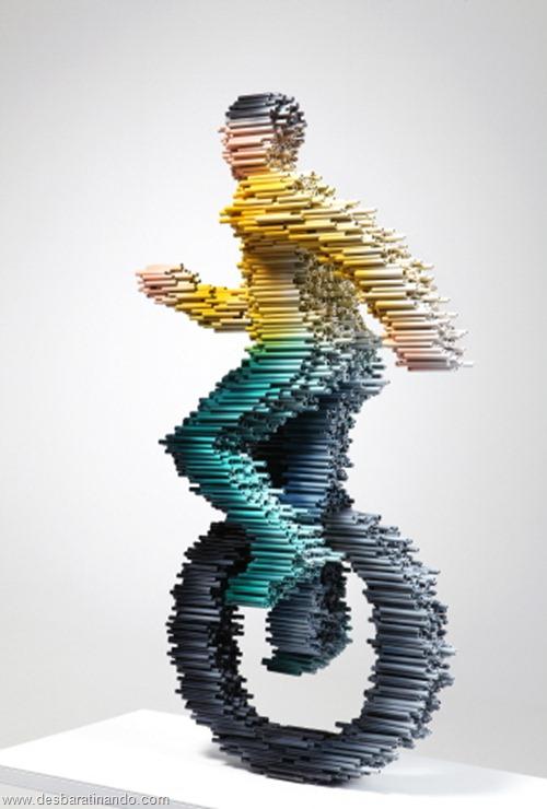 arte com tubos de pvc 3D velocidade desbaratinando  (2)