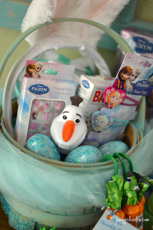 FROZEN Easter Basket - DIY Basket Tutorial