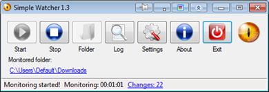 Monitor Folder Change