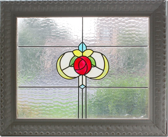 The Pink Peony of Le JardinTutorial-Faux Vintage Stained Glass