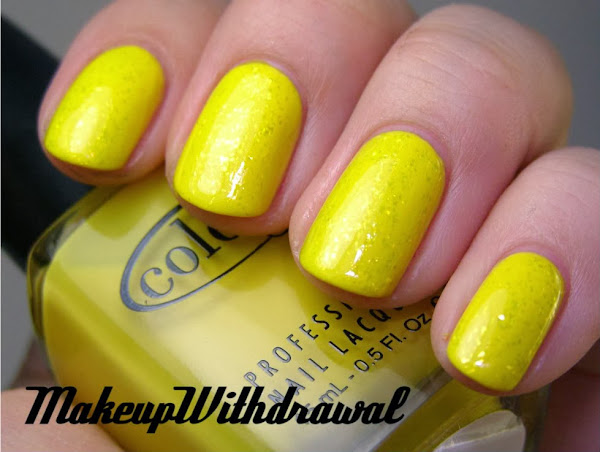 YellowNails018 1 Yellow Nail Polish Designs