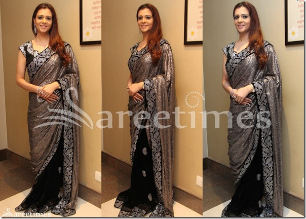 Grey_Black_Half_and_Half_Saree