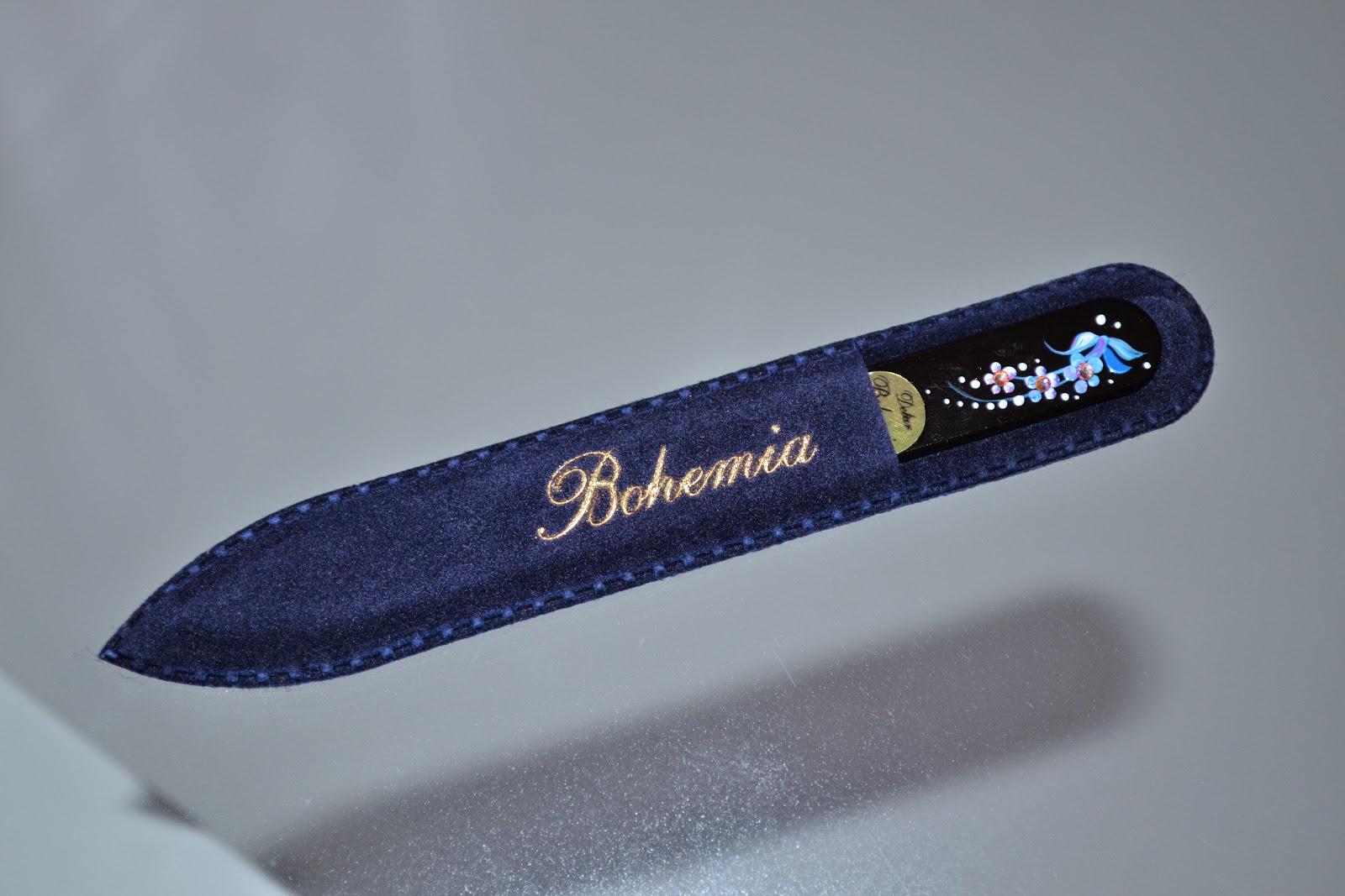 Пилка стеклянная для ногтей bohemia