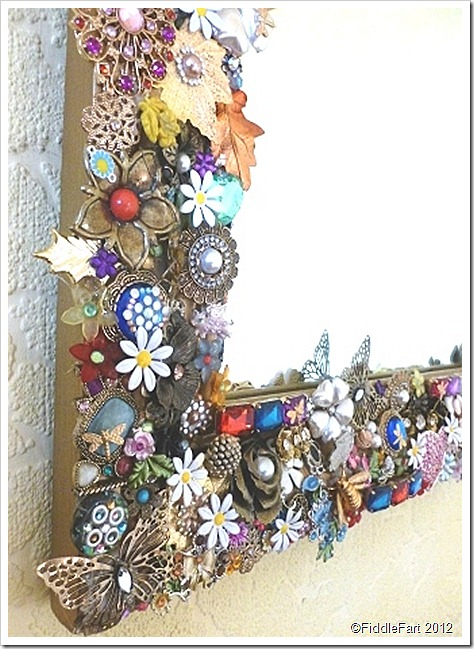 Jewelled Mirror Crafts