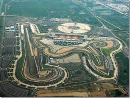 Buddh International Circuit - Satelite View