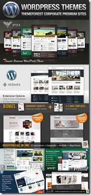 wordpress themesforest pacote de templates