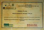 Galardon 2012 -Ristorante Grand Italia