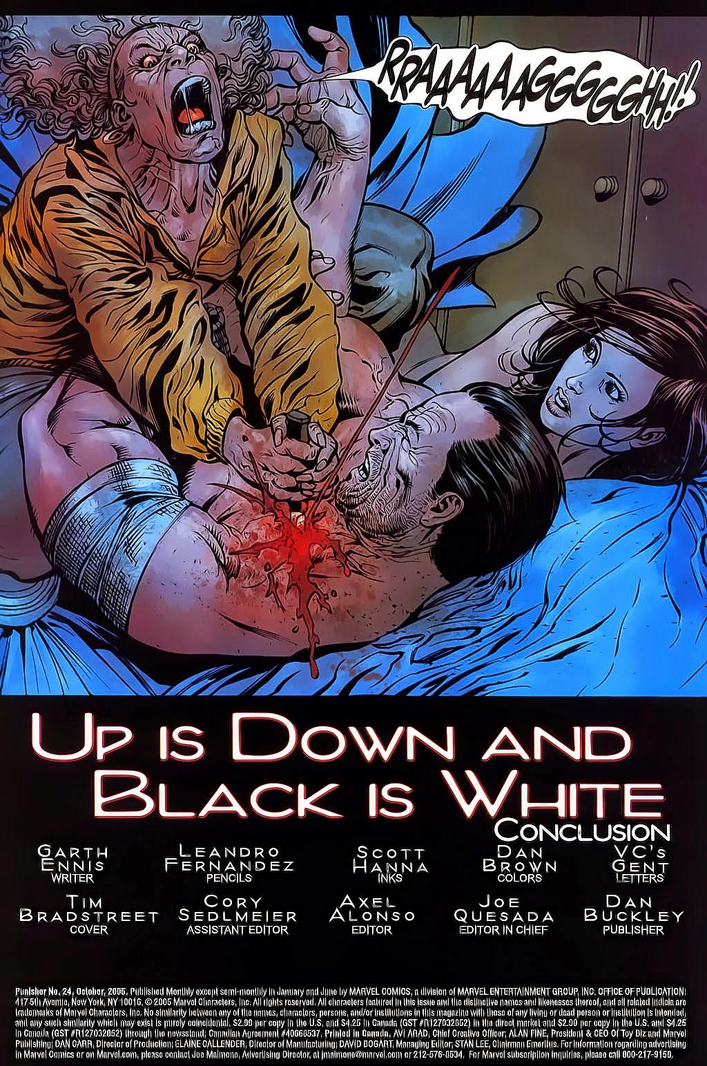 The Punisher: Trên là Dưới & Trắng là Đen chap 6 - Trang 4