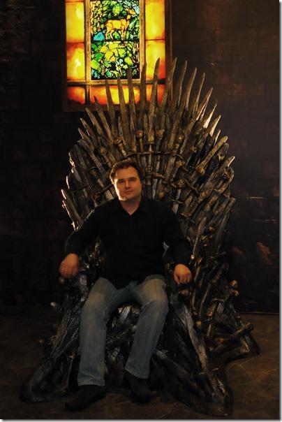 """Я на """"железном"""" троне из сериала """"Игры престолов"""""""