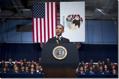Obama Gun Speech in Chicago