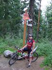 Czerwony z Jaworzyny na Runek jest rowerowo rewelacyjny.