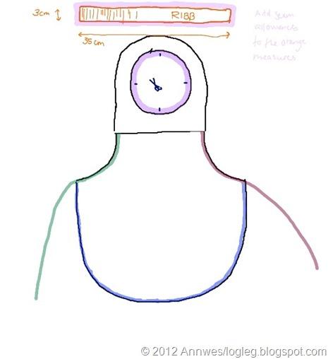 mønster forkle 86 til 98 vrengt2