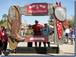 9311 Alberta Calgary - Calgary Stampede 100th Anniversary - Shirley and Don
