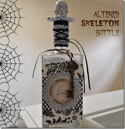 Altered Skeleton Bottle