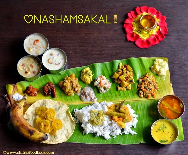 Onam sadya recipes kerala lunch menu chitras food book forumfinder Gallery
